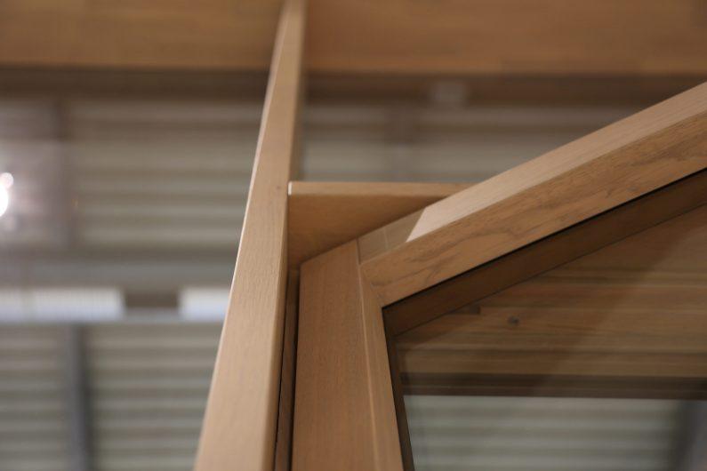 Skyline Facade, detail of the frame node