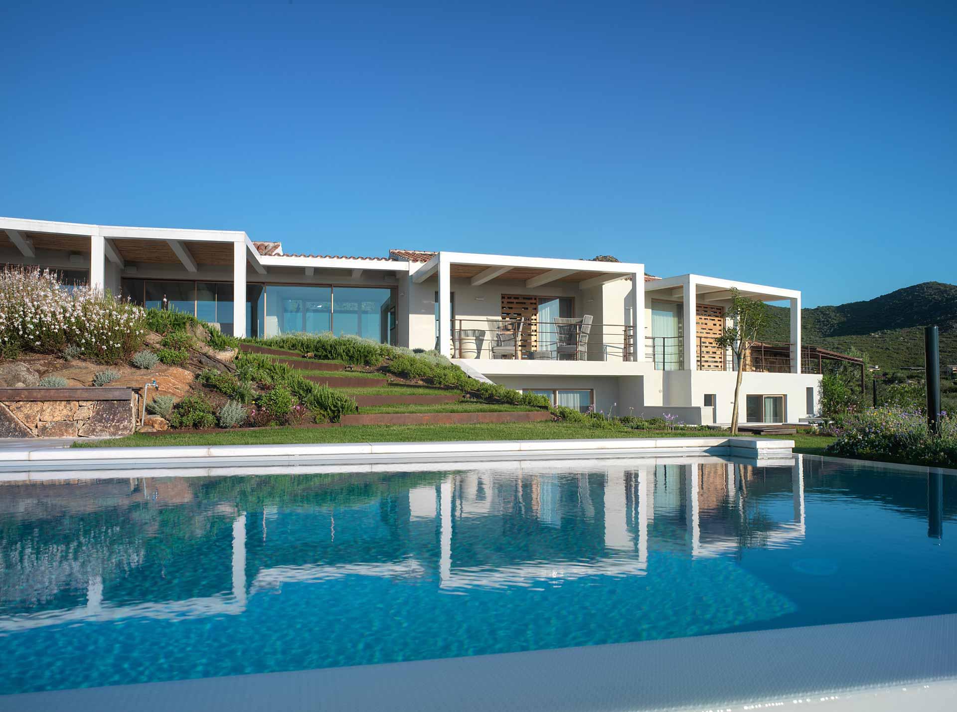 Villa Costa Smeralda, Skyline Sliding 4 sashes