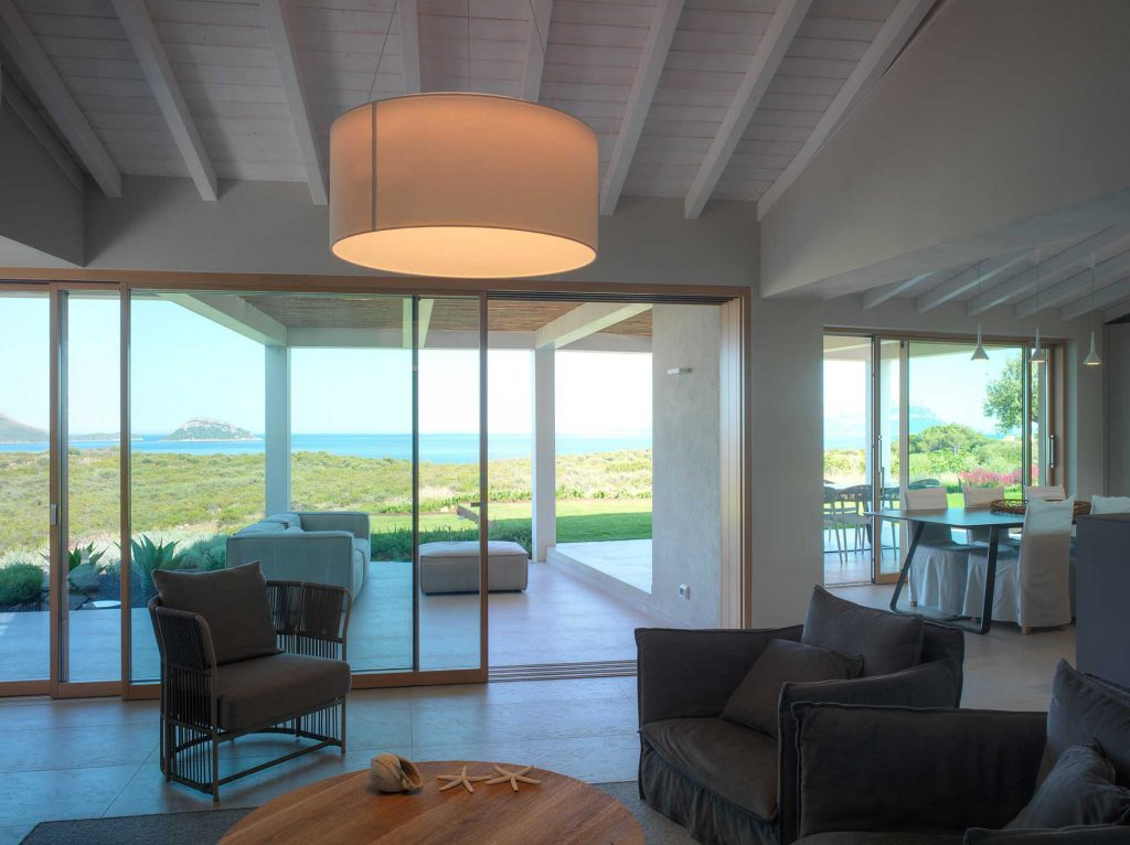 Villa Costa Smeralda, internal view Skyline Sliding