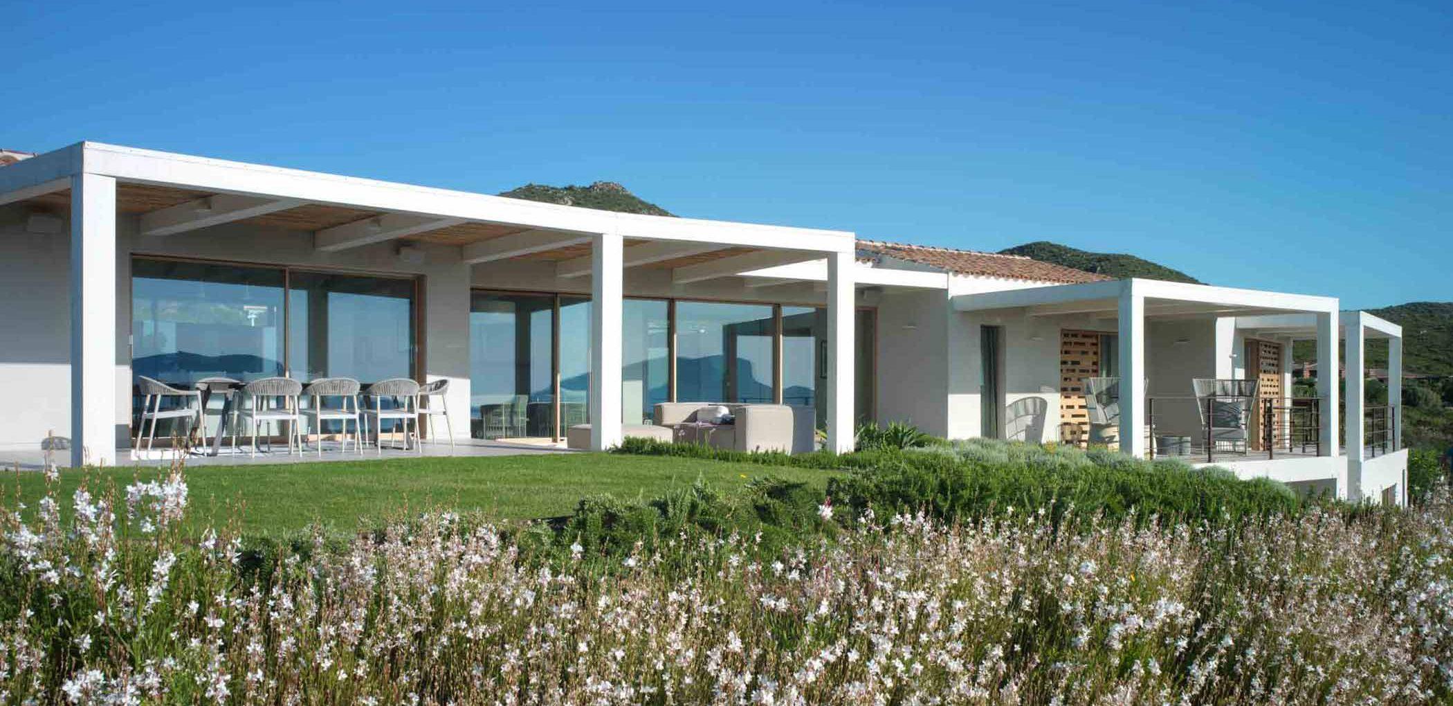 Facade of Villa Costa Smeralda, image cover