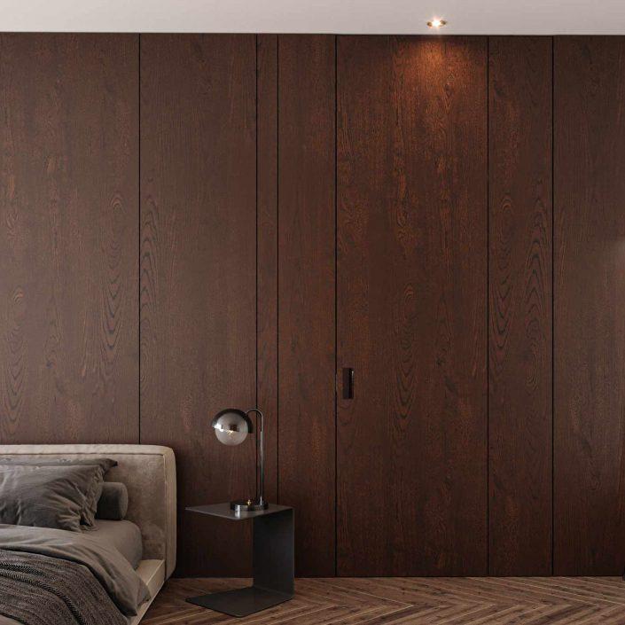Wooden interior door Carminati